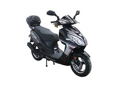 Bigger Size Gas Street Legal Scooter TaoTao EVO 50 - Black * For more information, visit image link. (This is an affiliate link) 50cc Scooter For Sale, 50cc Moped Scooter, Gas Moped, Honda Scooters, Scooter Helmet, Scooters For Sale, Gas Scooter, Street Legal Scooters, Gas Powered Scooters