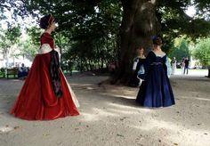 Red Tudors dress.