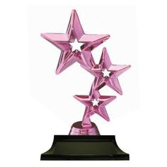TriStar Pink 180mm Dance Awards, Gymnastics, Drama, Pink, Fitness, Hot Pink, Dramas, Drama Theater, Physical Exercise