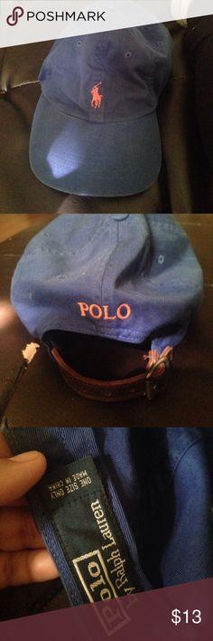 ⚡️final sale ⚡️Ralph Lauren cap Good condition except baby stain that's barley visible as shown in last pic Ralph Lauren Accessories Hats