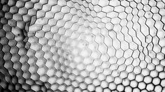 distorted honey comb