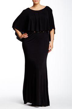 allen schwartz lace maxi dress plus size