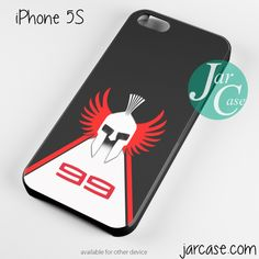 Jorge Lorenzo Sparta Logo Phone case for iPhone 4/4s/5/5c/5s/6/6 plus