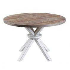 ujrahasznositott fa butor egyedi asztalos tervezes gyartas fa tomorfa kerek etkezo asztal nyers natur fa asztal konyha etkezo loft country vintage mediterran design tomorfa kerek asztal.jpg (1000×1000)