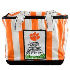 Clemson Tigers Chevron Cooler Bag #clemson