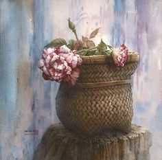 Watercolor by Cheng Chen-Wen,