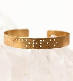Sisters Braille Cuff Bracelet by Leigh Luna on Scoutmob Shoppe