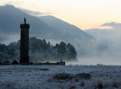 """pagewoman: """" Glenfinnan Monument, Lochaber, Highlands of Scotland. Erected in in tribute to the Jacobite clansmen who fought and died in the cause of Prince Charles Edward Stuart (Bonnie Prince Charlie) """" Places In Scotland, Scotland Travel, Scotland Trip, Glenfinnan Monument, Scotland Culture, Bonnie Prince Charlie, Hundred Acre Woods, Weather And Climate, Climate Change"""
