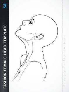 Fashion Female Drawing Template | Scratches | Pinterest | Female ...