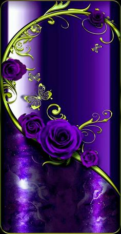 Tattoo rose color purple Ideas for 2019 Bling Wallpaper, Flower Phone Wallpaper, Butterfly Wallpaper, Heart Wallpaper, Cellphone Wallpaper, Iphone Wallpaper, Purple Love, All Things Purple, Purple Flowers