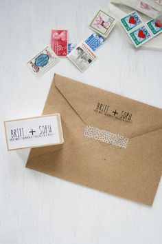 Silhouette Mint | Return Address Stamp | Brittany Sazonoff (BSaz Creates) for Silhouette America