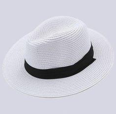 メルカリ商品: 麦わら帽子  折りたたみ 可 つば広 中折れ  紫外線対策 春 #メルカリ
