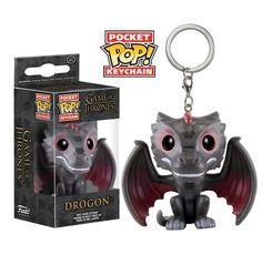 Pocket Pop! Keychain: Game of Thrones - Drogon