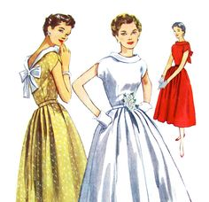 50's Dress Simplicity 4556