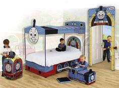Kids Bedroom Ideas With Thomas The Tank Engine Theme