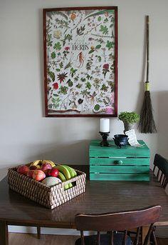 kitchen altar for Brigid