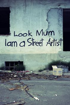 Ideas Street Art Graffiti Quotes Artists For 2019 Graffiti Kunst, Street Art Graffiti, Banksy Graffiti, Alternative Kunst, Arte Grunge, Graffiti Quotes, Street Art Quotes, Land Art, Street Artists