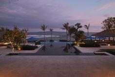 View from the living pavilion Puri Salila @ Anapuri Villas