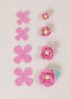 Some Tips, Tricks, And Techniques For Your Perfect fabric crafts Felt Flowers Patterns, Felt Crafts Patterns, Felt Crafts Diy, Felt Diy, Handmade Felt, Handmade Flowers, Fabric Flowers, Fabric Crafts, Cat Crafts