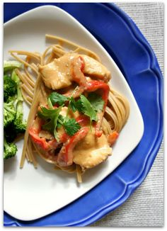 365 Days of Slow Cooking: Recipe for Slow Cooker Thai Peanut Chicken
