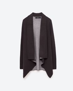 Image 8 of DOUBLE-FACED POINTED JACKET from Zara