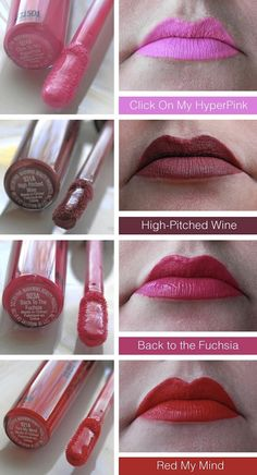 Wet n Wild Megalast Liquid Lip Color, these are about and work really good for a lip stain again if you dont like to spend a lot of money on lipsticks. Wet N Wild Cosmetics, Bh Cosmetics, Makeup Lipstick, Lipstick Queen, Drugstore Makeup, Expensive Makeup Brands, Make Up Dupes, Best Lipsticks, Makeup Swatches