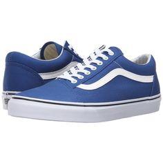 342c262bdc Vans Old Skool ((Canvas) True Blue) Skate Shoes ( 50) ❤