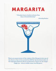 Classic cocktail posters by Crispin Finn www.creativeboysclub.com