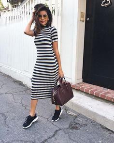 27 Best Dresses With Tennis Shoes Images Fashion Clothes