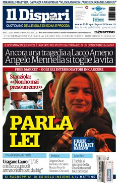 La copertina del 13 ottobre 2015 #ischia #ildispari