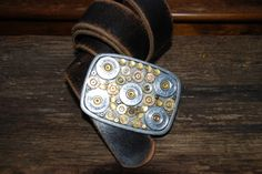 Bodacious Bullet Buckle WITHOUT Bling