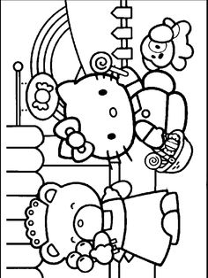 Hello Free Printable Hellokitty Coloring Pages
