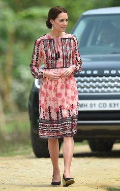 Royal Tour - The Duke And Duchess Of Cambridge Head Out On Safari