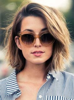 #WigsBuy - #WigsBuy Short Sexy Straight Classical Synthetic Hair Lace Front Women Wigs 10 Inches - AdoreWe.com