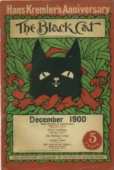 Black Cat (Magazine) Cover - December 1900