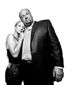 James Gandolfini and Edie Falco ~j..these two were just fabulous together!
