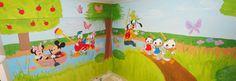 Disney wall art No2!  Τοιχογραφιες παιδικων δωματιων - www.wallinart.gr