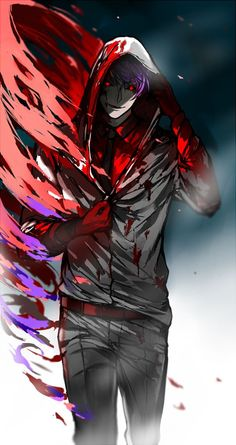 Tokyo Ghoul - Tsukiyama Shuu - he is not the ideal type of crazy person, but I think his character is interesting. ~*: