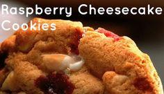 Raspberry Cheesecake Cookies, Subway cookie recipe! YUMMMMMMM!!!!!