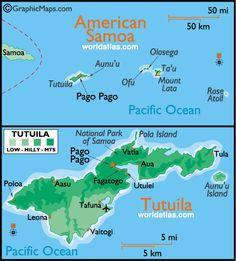 American Samoa,officially the last place on earth and my home for three years.