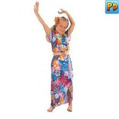 Hawaiian Beauty Fancy Dress Costume