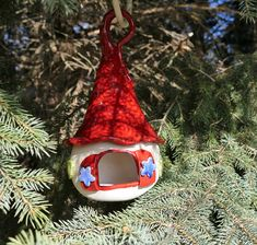 Christmas Ornaments, Holiday Decor, Handmade, Home Decor, Nice Things, Objects, Hand Made, Decoration Home, Room Decor