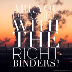 Are you detoxing with the right binder? Autism is a high toxic load and using binders helps relieve some of the burden.
