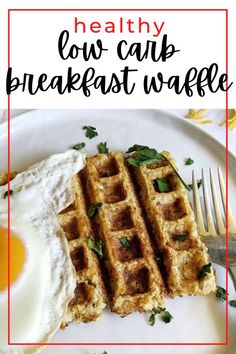 Healthy cauliflower waffle recipe. Savory cheese and cauliflower waffle recipe. Easy low carb waffle recipe. Protein low carb waffle recipe. #foodtalkdaily Caramel Bundt Cake Recipe, Low Fat Cookies, How To Cook Mince, Butternut Squash Lasagna, Pumpkin Mac And Cheese, Low Carb Waffles, Jelly Cookies, Broccoli Bake, Breakfast Waffles