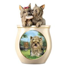 Chihuahua Cookie Jar Interesting Cookie Capers Chihuahua Cookie Jar Puppy Dog Treat Ceramic Jar Linda Decorating Design