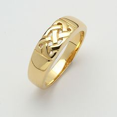 Traditional Celtic Knot Ring (C-3975) - Celtic Rings