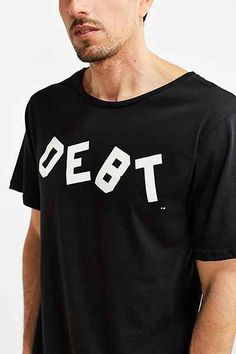 Hintd - Debt Tee Graduation Gifts For Guys, Debt, Mens Tops, T Shirt, Tee Shirt, Tee