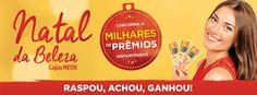 Promoção Natal da Beleza Lojas REDE