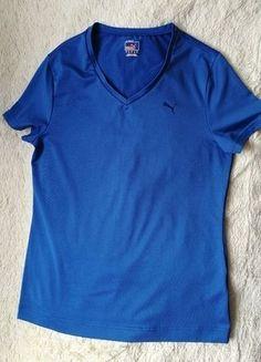 Kup mój przedmiot na #vintedpl http://www.vinted.pl/damska-odziez/topy-t-shirty/18030373-granatowa-koszulka-sportowa-marki-puma