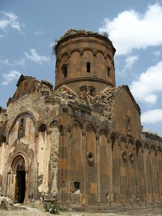 Church of St Gregory of Tigran Honents - ruined and uninhabited medieval Armenian city of Ani -site situated in the Turkish province of Kars, near the border with Armenia.